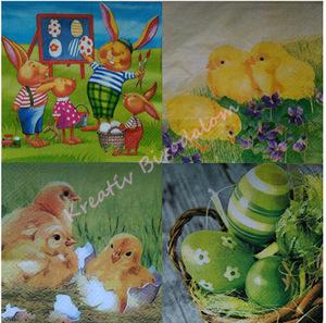 Húsvéti szalvéták